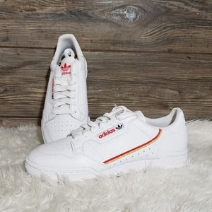 New Adidas Continental 80 White Sneakers